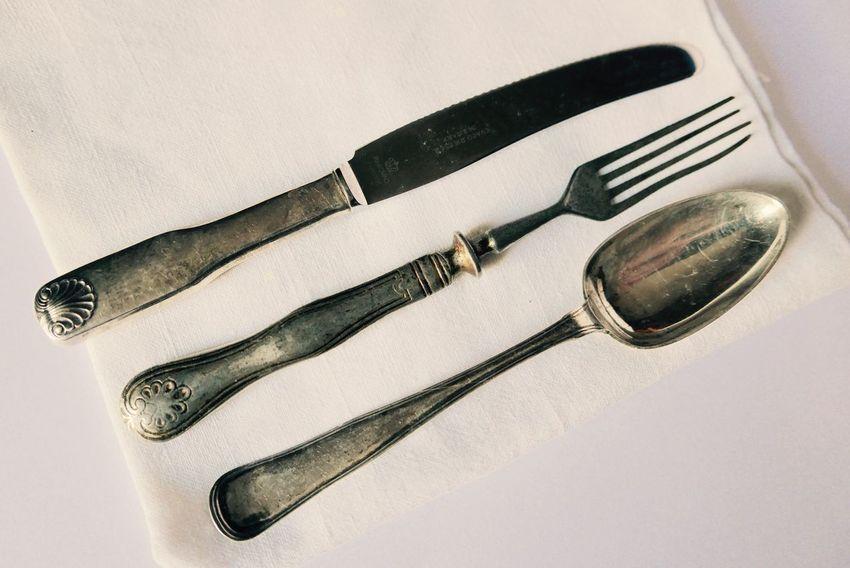 Cutlery Silver  Silverware  Still Life