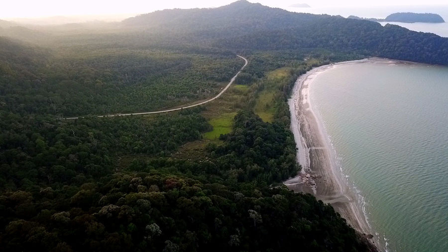 pantai air papan Aerialphotography EyeEm Selects Topdown Mavicpro Eyebird Mersing JungleTracking Environment Land Nature Tree Plant Scenics - Nature Water High Angle View No People Landscape Aerial View Outdoors Beauty In Nature Forest Sea Mountain Sky Travel Day