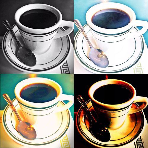 Coffee Warhol Hot Black Coffee