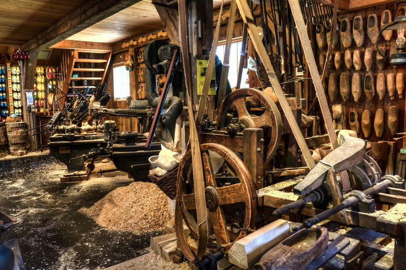 Nederland Zaanse Schans Abandoned Day Factory Holland Holland❤ Indoors  Industry Manufacturing Equipment No People Rusty Workshop