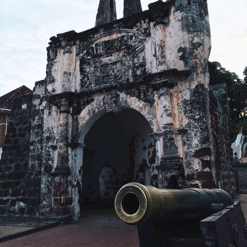 A photo of the A Gamosa Fortress which is located in Melaka, Malaysia. First Eyeem Photo