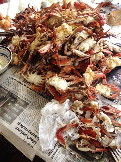 Blue Crabs Virginia Old Bay Seasoning