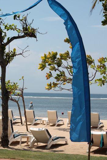 EyeEm Selects Tree Water Sea Beach Tent Golf Club Camping Summer Sky Horizon Over Water