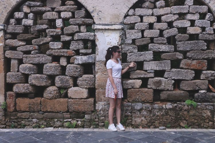 Wall - Building Feature Wall Stone Wall Culture Iland Taking Photos FootPrint EyeEm Best Shots EyeEm