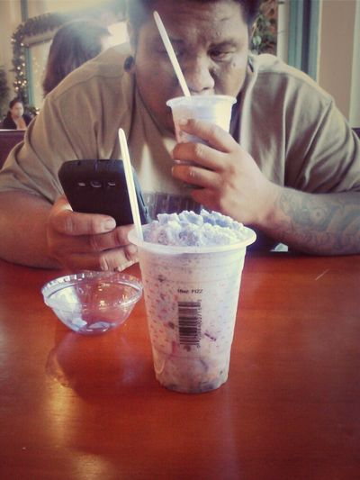 halo halo date with mine <3 spent the whole day spending quality time with the only one I would xoxoxo Iloveyou Boyfraaaaaan Filipino Dessert Food