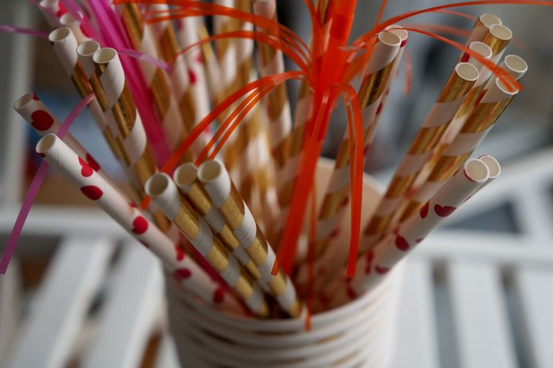 Pink Birthday Close-up Decoration Drinking Straw Multi Colored No People Paper Straw Pattern Plastic Plastic Straw Plastics Red Selective Focus Single Use Single Use Plastic Single-use Plastics Still Life Straw Throwaway Throwaway Society White Color