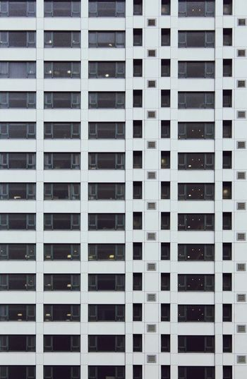 Pattern Architecture Building Exterior Full Frame Built Structure Repetition Modern No People City Day Skyscraper Office Block ApartmentLife Apartment Life Apartment Living Apartment Block Windows Minimalist Architecture Black And White Life Style In Between Urban Urban Life Style In Between Minimalist