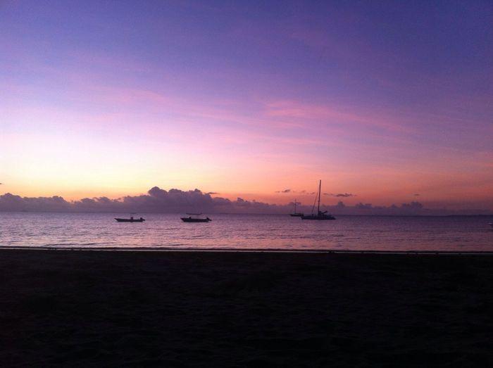 🌺 Sunset Colors Boats Beach Ocean Wanderlust Landscape Holiday Summer