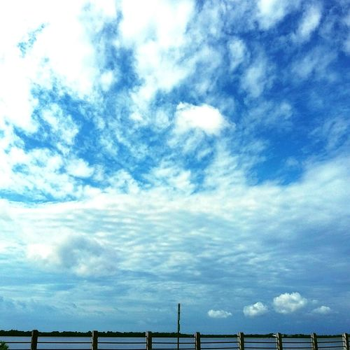 Lovely morning skies. Blue Skies Clouds And Sky Enjoying The Sun Relaxing Morning Light Clouds Charleston South Carolina