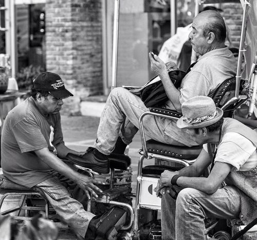 Here for the shine! Street Photography EyeEm Best Shots - Black + White Blackandwhite Puerto Vallarta