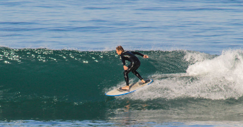 San Diego Encinitas Surfingphotography Enjoying Life Moonlight Beach Beach Surf Life Surfing Photography In Motion Blue Wave People Of The Oceans