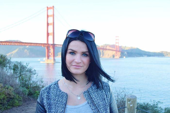 Myself Traveling San Francisco Journey Enjoying Freedom