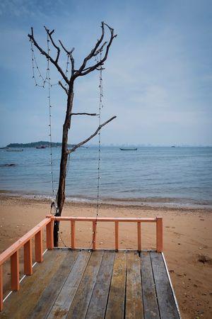 Ko larn Island Sea Horizon Over Water Water Nature Beauty In Nature Scenics Tranquility Tranquil Scene Sky Tree No People Day Outdoors Fujifilmru Fujifilm Fujifilm_xseries