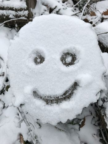 Snow face Snow Winter Cold Temperature Weather White Color No People Day