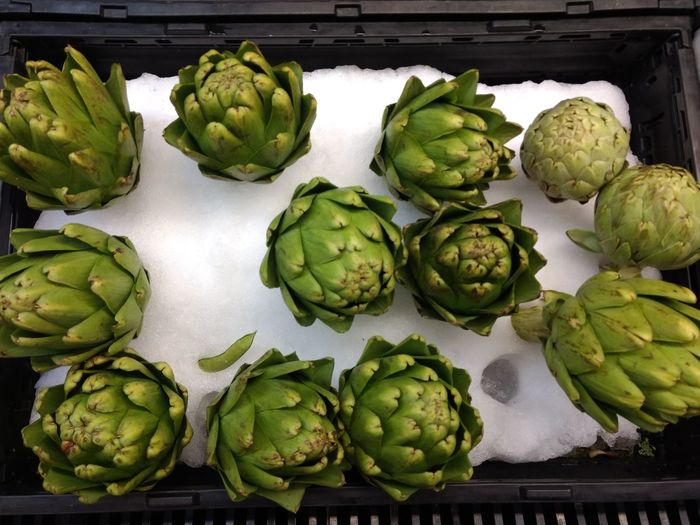 green Vegetable Artichoke Healthy Eating Food Brussels Sprout Green Color Food And Drink Freshness Market Cauliflower