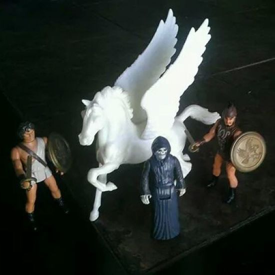 I'm really proud of these... beautiful Vintage Clashofthetitans Actionfigures including Pegasus from 1981 by Mattel . 80stoys Ilovethe80s Collectibles 80schild Toyrevolution Toysforlife 80smovies Toycommunity Vintagetoys Toycollector Mattycollector Clashofthetitans1981