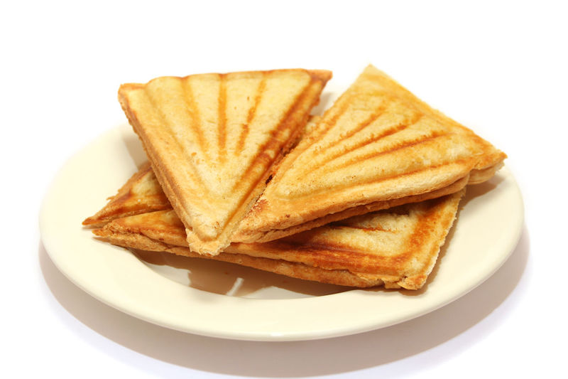 Bread Cheese Toast Close-up Food Food And Drink Freshness Indoors  Indulgence Plate Ready-to-eat SLICE Snack Still Life Studio Shot Table Temptation Toast Toasted Sandwich Unhealthy Eating White Background