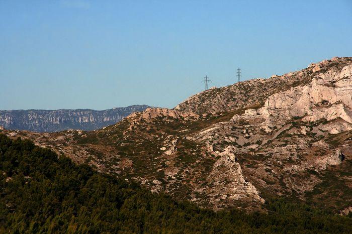 Mountain View Mountains Marseille France