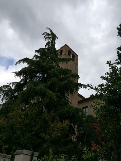 Chiesa Di San Lorenzo Bell Tower Tree City Sky Architecture Building Exterior Built Structure Cloud - Sky