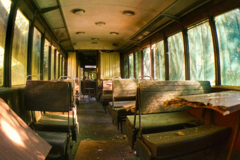 Found this wonderful old Train in the woods... Is This Seat Taken? .... Urban Exploration Abandoned Places Abandoned But Not Empty Eye4photography  The Human Condition Rule Of Thirds