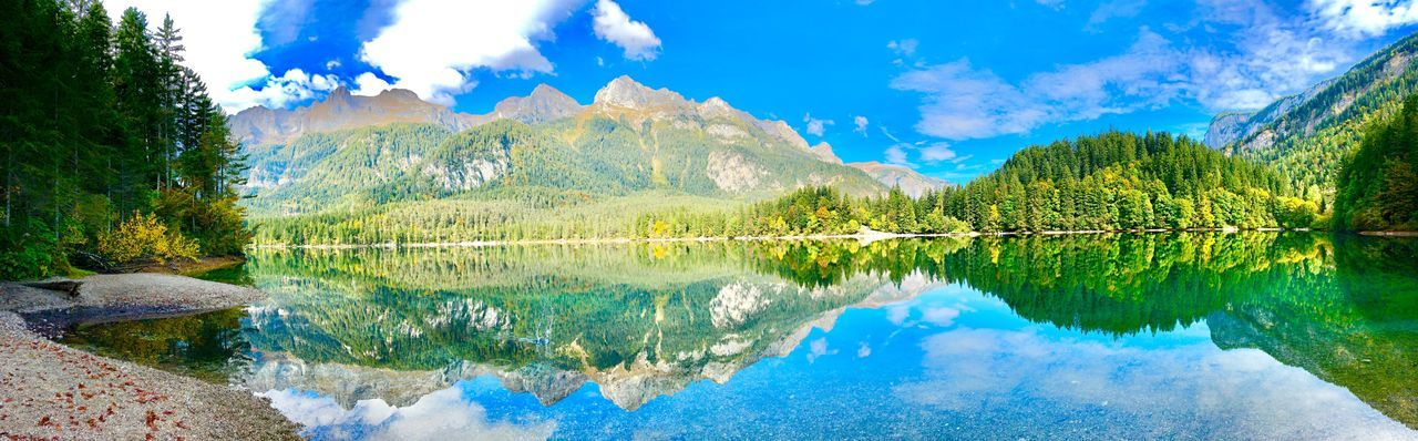Open space Openspace Beautiful Day Lake Lake View Lakeshore Lake Italybeauty Reflection Water Sky Lake Beauty In Nature Nature Plant Tree Panoramic Outdoors Mountain Scenics - Nature Blue Tranquility A New Beginning EyeEmNewHere