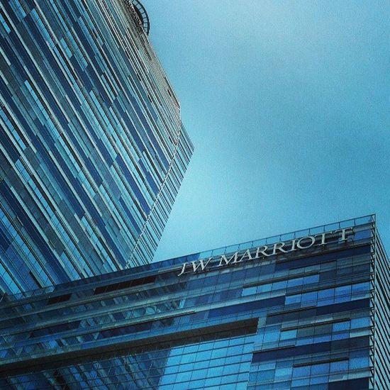 Marriott Hotel Lalive CA la213saturdaysummerblueclearsky