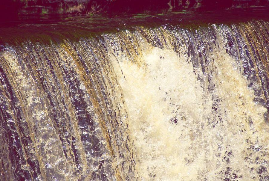 Cramond Edinburgh Scotland Waterfall