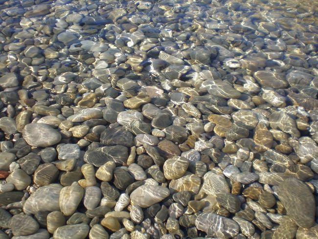Enjoying Life Relaxing Nice Day Taking Photos Reflection Pure Water Stones Seaside Sea