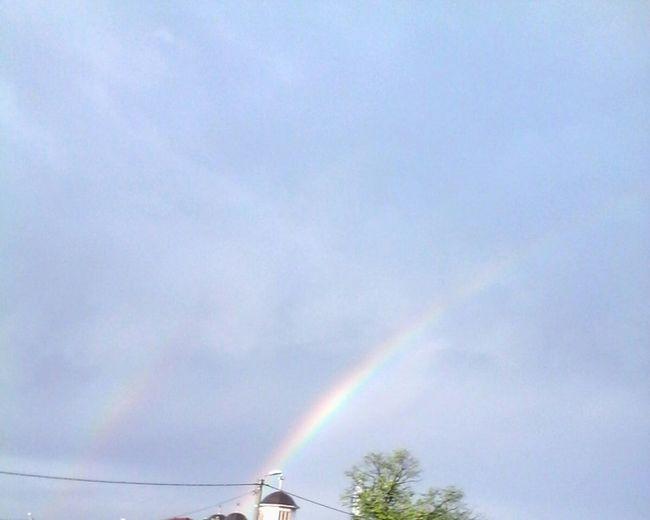 Eyeem Market April 2016 Nature_collection Curcubeu Nature Photography Showcase: April Rainbows Nature Rainbow Sky Wolfzuachis Romania Colorfull Natura Colorful @wolfzuachis Skyporn Romanian  Rainbow Double Rainbow Sky 2016 April