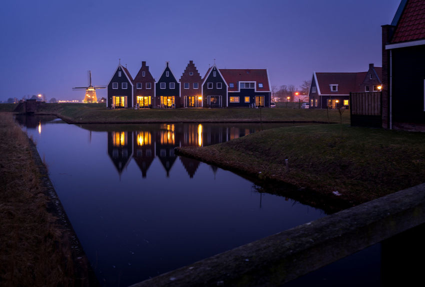Architecture Building Building Exterior Built Structure City Dusk House Illuminated Lake Nature Night No People Outdoors Reflection Sky Travel Travel Destinations Water