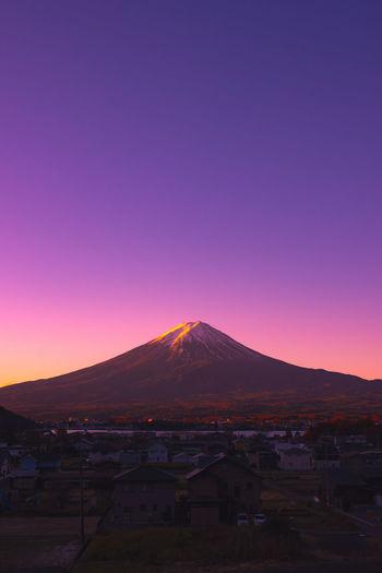Mount Fuji as