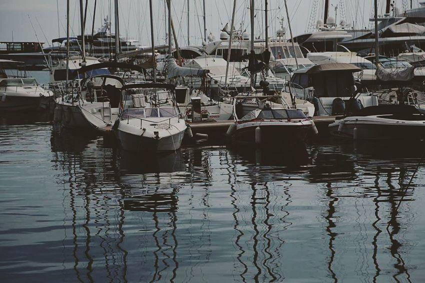 Port Monaco Montecarlo Monaco Boats Reflections In The Water