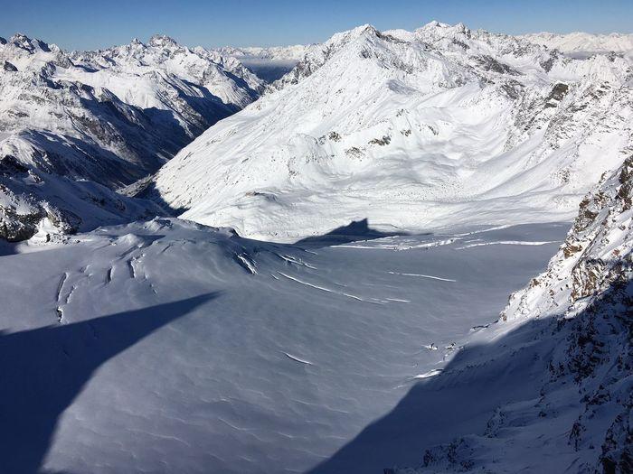 Cold Temperature Landscape Mountain Snow Snow Covered Soelden Winter