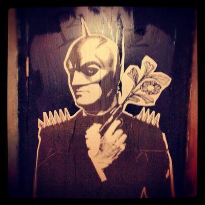 Batman Tango Street Art Montreal, Canada