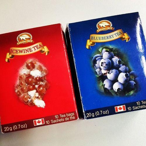 Canadiantea Icewine Blueberry Tea canada gift