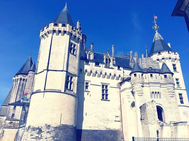 Chateau De Saumur Saumur Château Castle Pays De La Loire Val De Loire