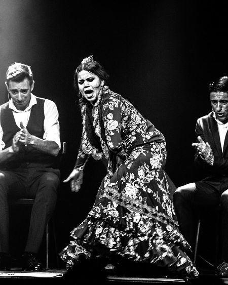 Flamenco Black And White Kulturfabrik MariaMorena