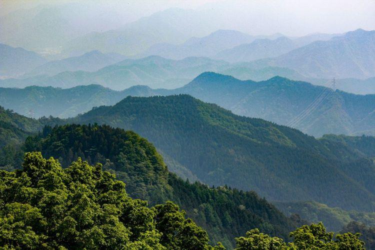 Climbing Mountain Climbing Chichibu Mountains Japan Ridge Line Mountains Mountain View Mountains And Sky Chichibu