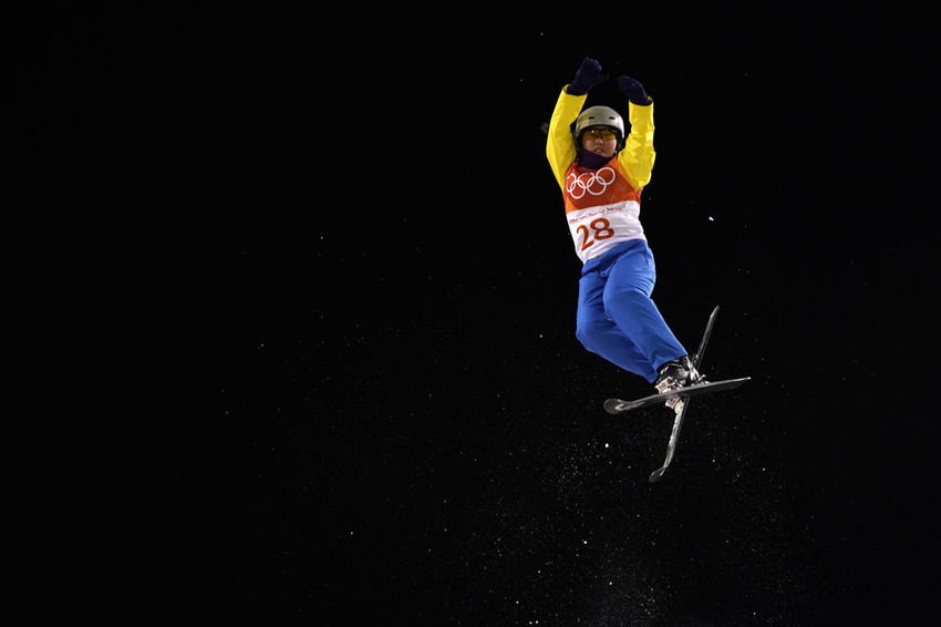 Ayana Zholdas of Kazakhstan, participated in Aerial Freestyle Skiing in the Pyeongchang2018 Winter Olympic Games Freestyle Skiing Kazakhstan Kazakhstani Olympic Olympics Phoenix Park Skiing Winter Winter Sport Aerial Ayana Zholdas Ayanazholdas Freestyle Freestyle Skier Night Olympic Games Olympicgames Phoenix Snow Park Pyeongchang Olympic Games Pyeongchang2018 Skiacrobatique Skier Sport Vault On The Snow Winter Sports