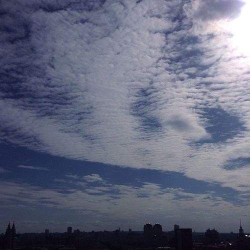 Msk Moscow Moment Instagram Sky Amazing City Mextures My Ipod Instagram Instagood Amazing Photo Photography Russia Москва МояМосква небо ☁ 😚 Like