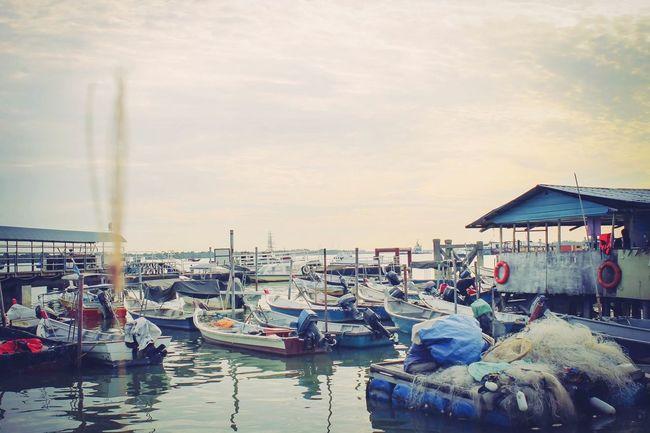 Jetty Canon Canon 70d Seaside Boats Portklang Northport EyeEm Malaysia