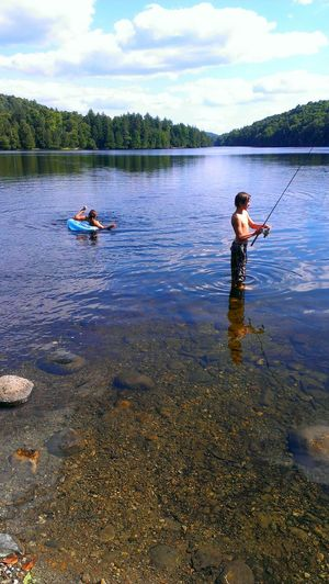 Capture The Moment Fatherhood Moments Lost In Paradise Fishing Spot Clour Of Life Lakesideview Vacation Destination