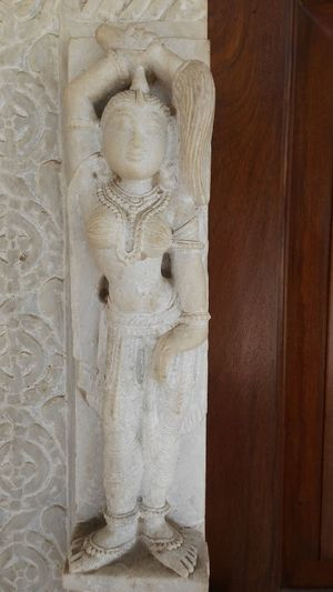 Dancing Lady Human Representation Full Frame Close-up Pattern Backgrounds Sand Textured  No People Indoors  Day Cream Colored White Marble Textured  Design Hand Work Marble Sculpture Ancient Civilization Architecture Textured