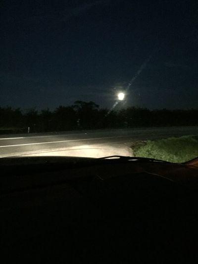 LastNight :) Watching The Beautiful Full Moon 🌕 😉
