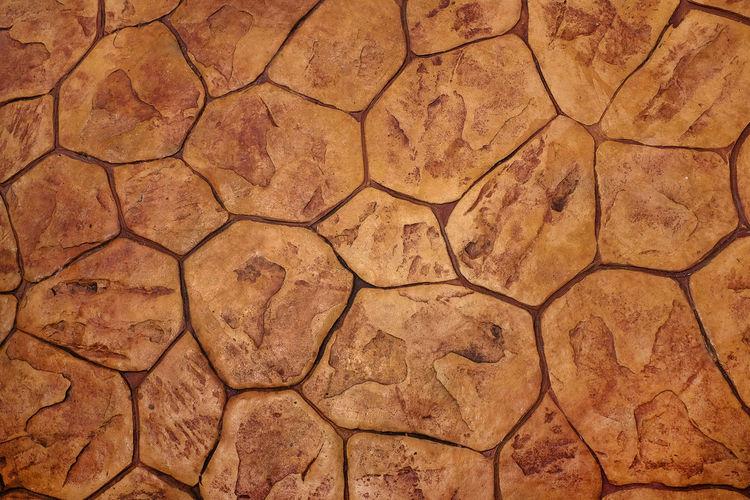 Tiled floor.