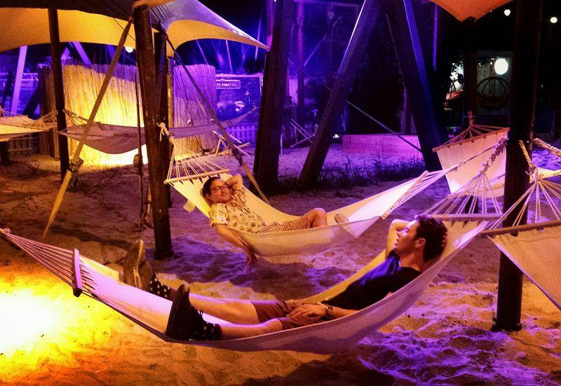 Summer Showcase July Festival Hammock People Together Millennial Pink