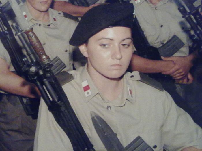 Addestramento Amorepatria Amorepaz Donna Giuramento Military