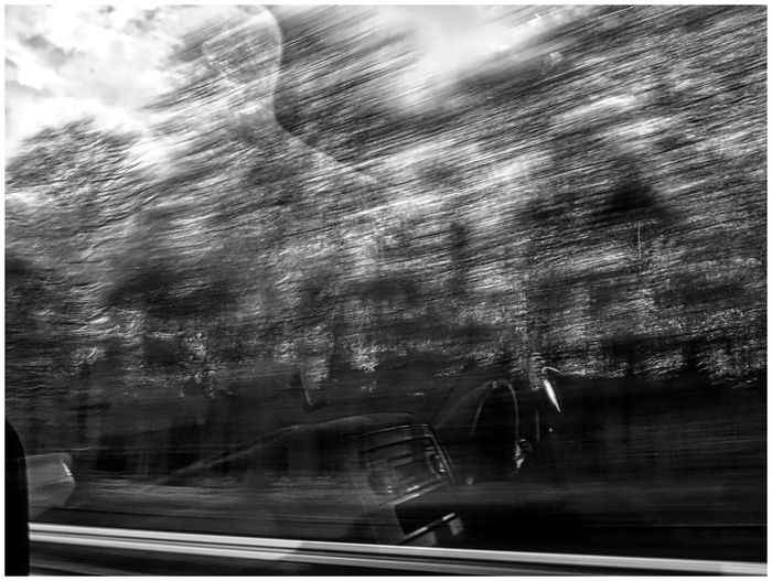 Abstract Black And White Blurred Blurred Motion Blurred Visions Experimental Fast Motion Landscape Speed