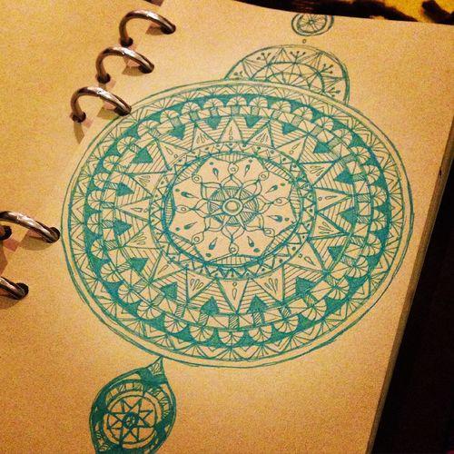 Free hand Art Mandalas Mandala YohkoAmaterraArt My Art 曼荼羅 マンダラ My Drowing Drawing Cosmo