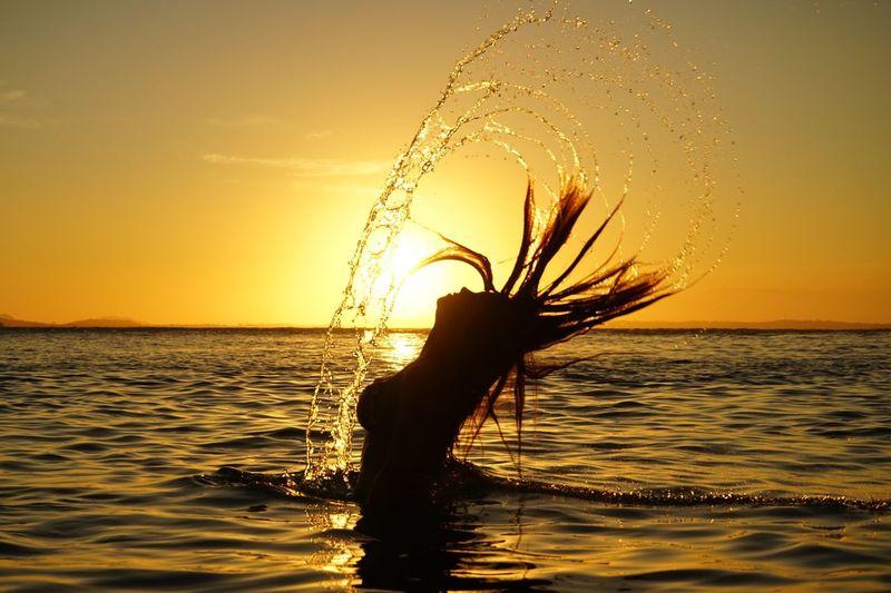 Beautiful sunset Sunset Moody Sky Buzios Praia Dramatic Sky Sea Ocean